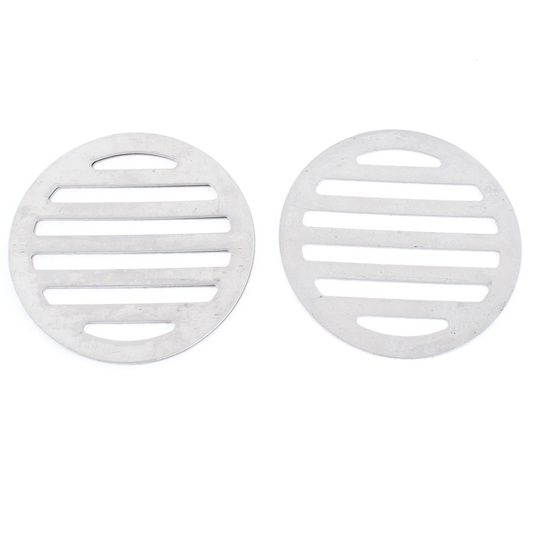"Stainless Steel Kitchen Bathroom Round Floor Drain Cover 3"" 7.5cm 3Pcs"