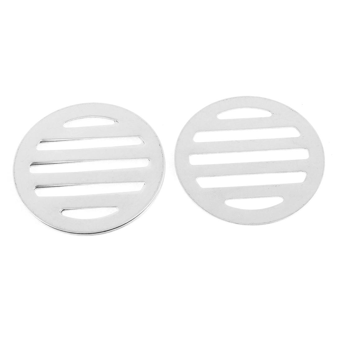 "Stainless Steel Kitchen Bathroom Round Floor Drain Cover 2.4"" 6.2cm 4Pcs"