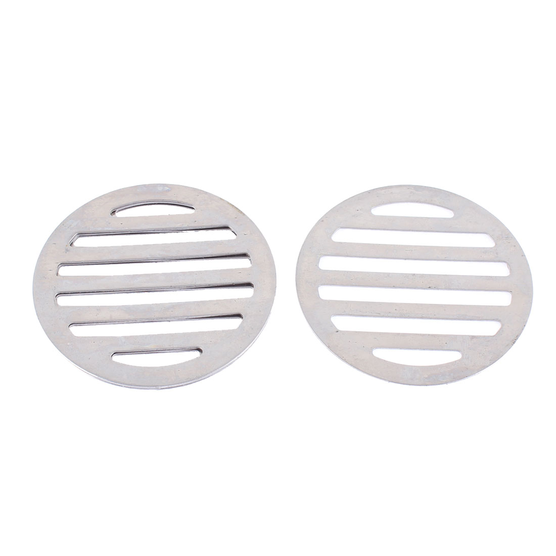"Stainless Steel Kitchen Bathroom Round Floor Drain Cover 3"" 7.5cm 5Pcs"