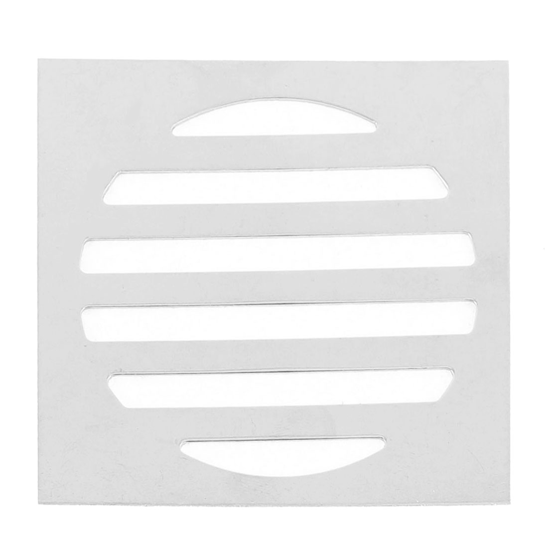 "Stainless Steel Kitchen Bathroom Square Floor Drain Cover 3"" 7.5cm"