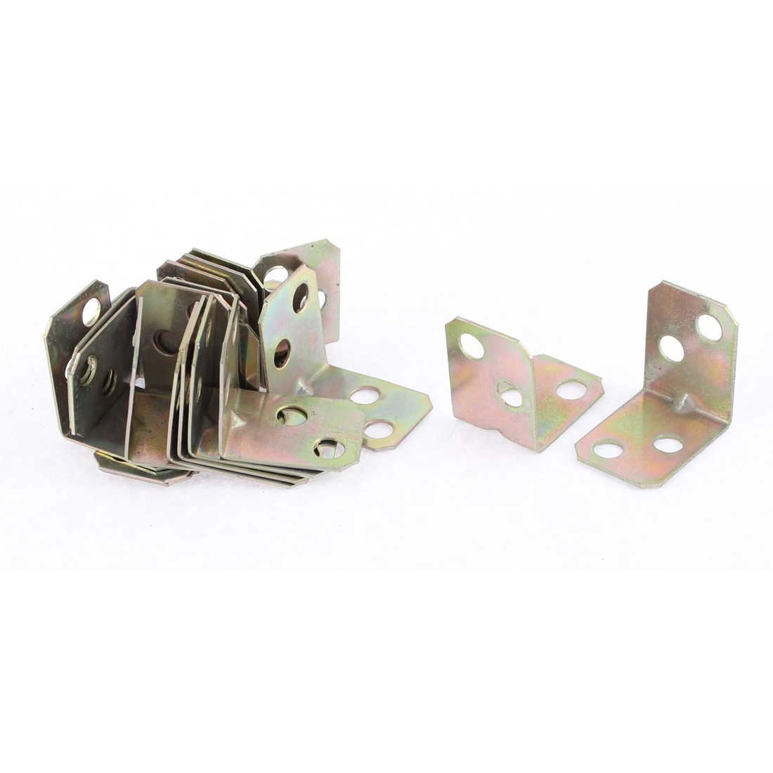 Furniture Door 90 Degree Corner Angle Brackets Fasteners Support 16x16x20mm 20pcs