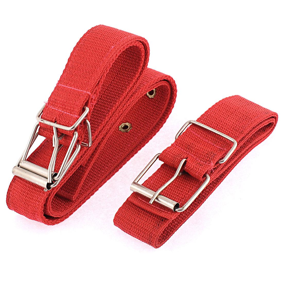 Pet Dog Dual Side Nylon Buckle Adjustable Lead Harness Belt Collar 3.6cm Width
