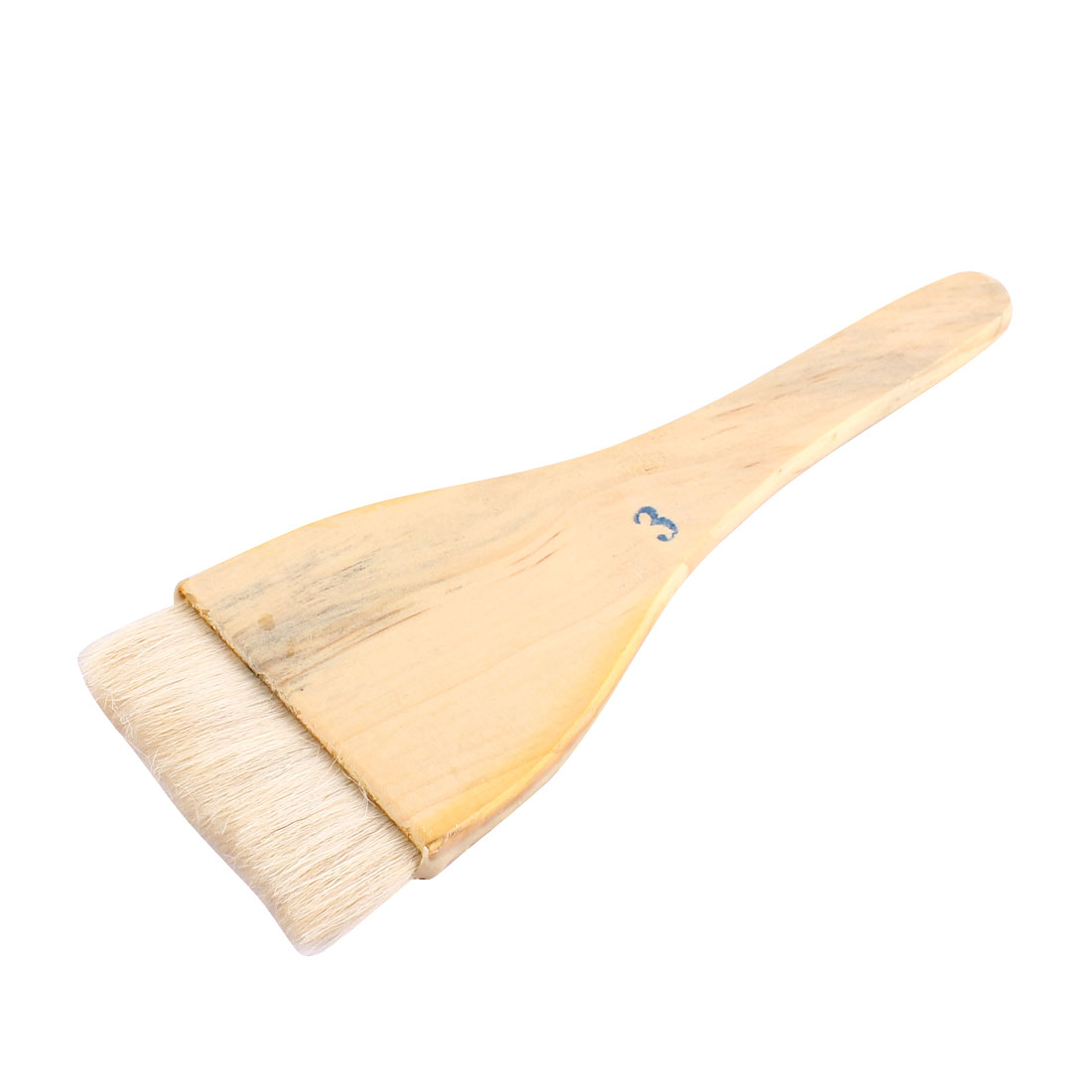 Soft Bristle Wooden Handle Oil Paint Painter Brush 21cm x 7.5cm
