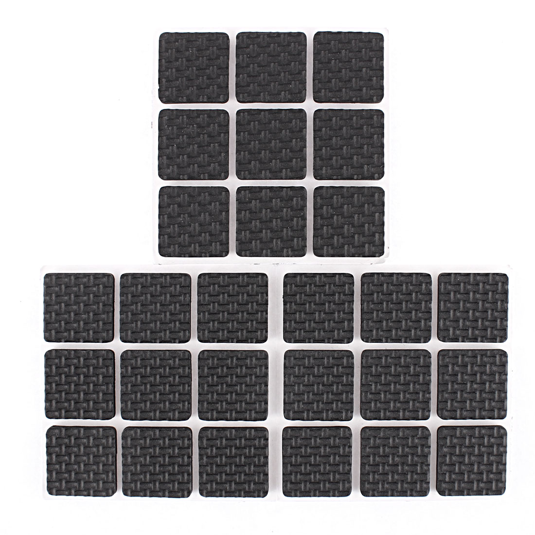 Self-adhesive Square Shape Furniture Protection Cushion Pads Mat 27pcs