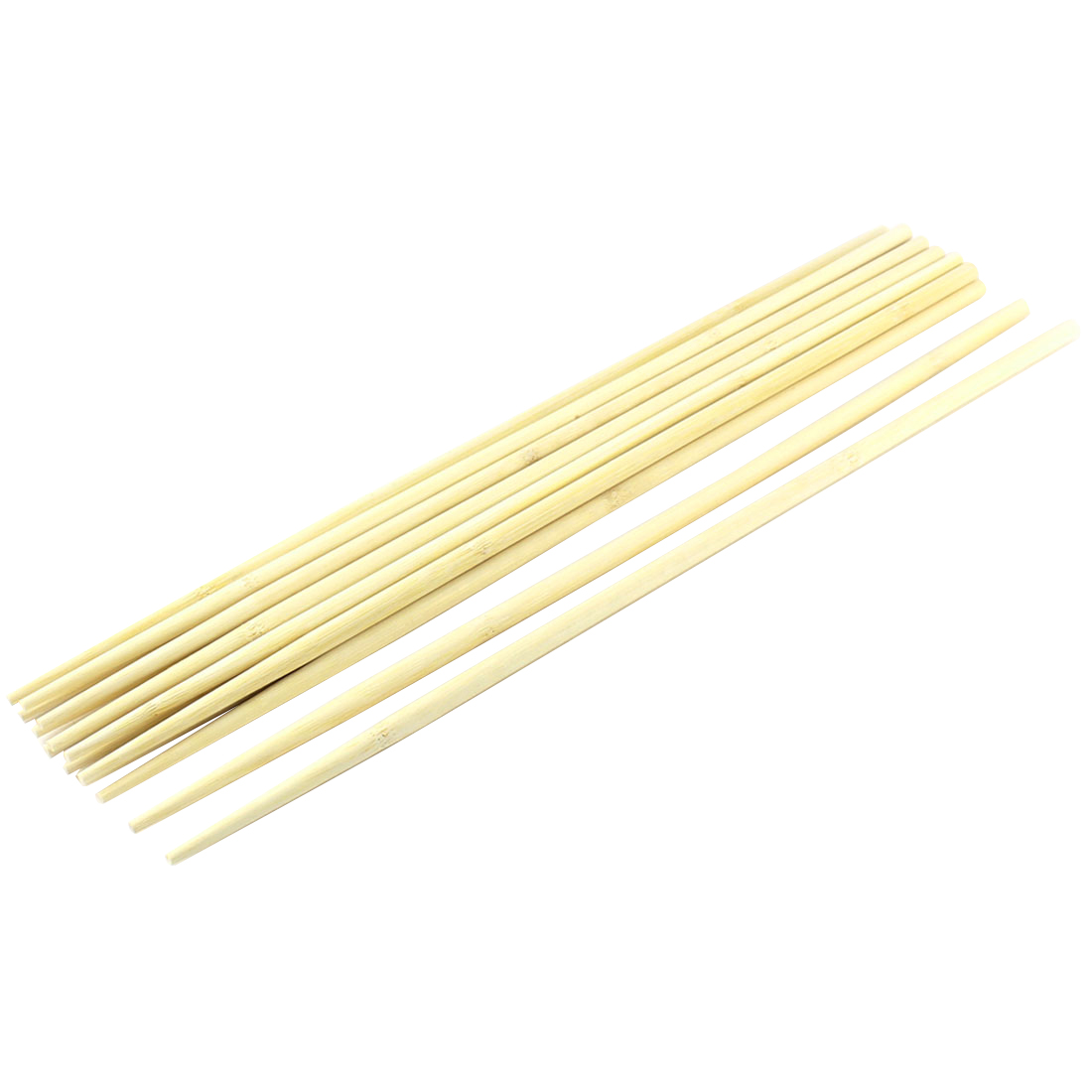Kitchen Hot Pot Cooking Wooden Noodles Chopsticks 45cm Length 7 Pairs