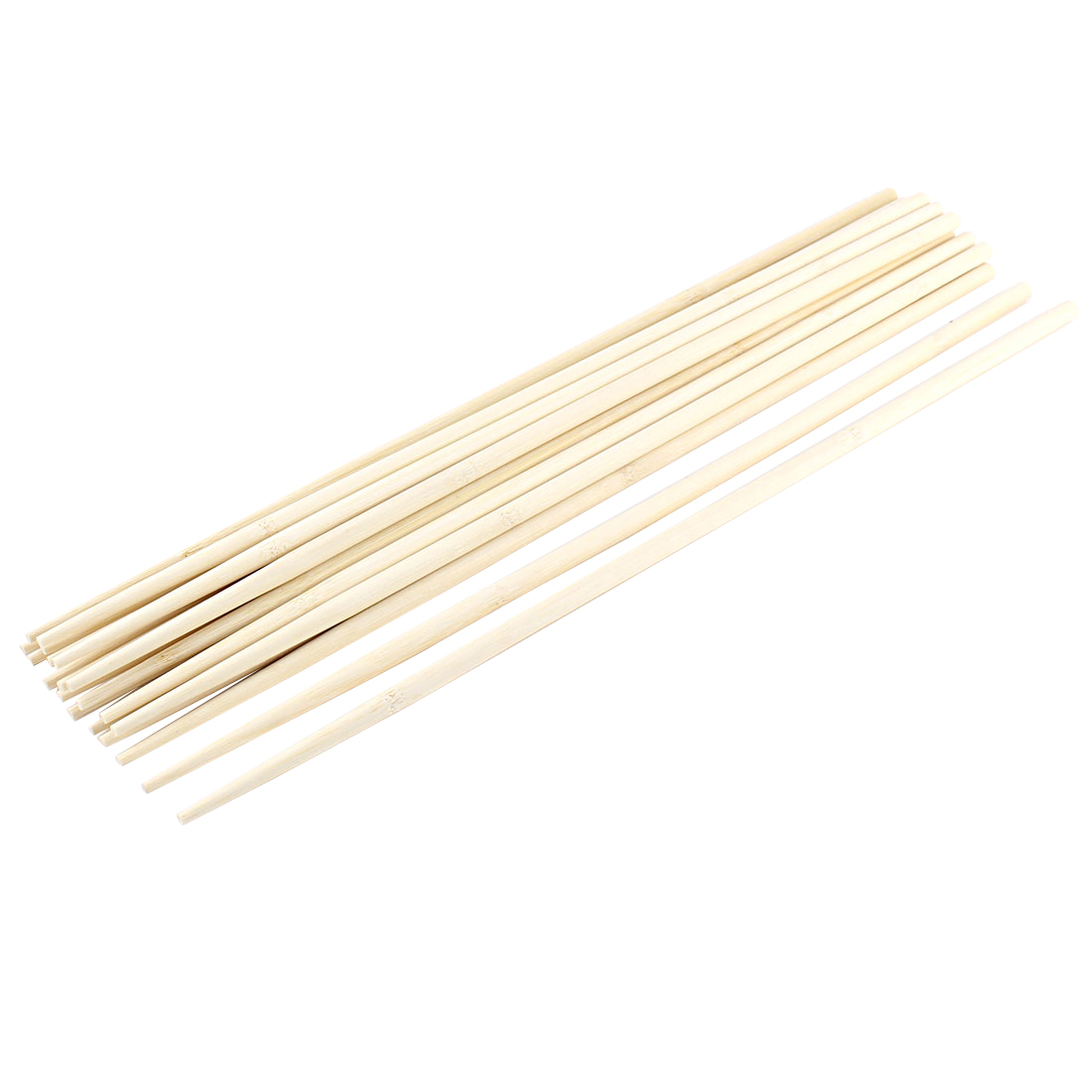 Kitchen Hot Pot Cooking Wooden Noodles Chopsticks 45cm Length 10 Pairs