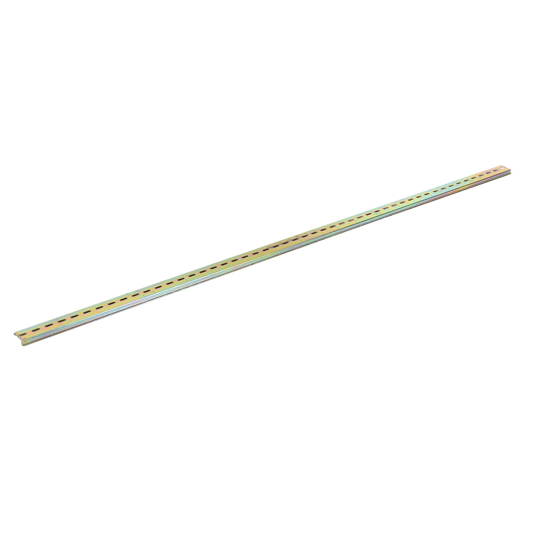 3.5cm Width Sliding Mount Ball Bearing Drawer Slides Brass Tone