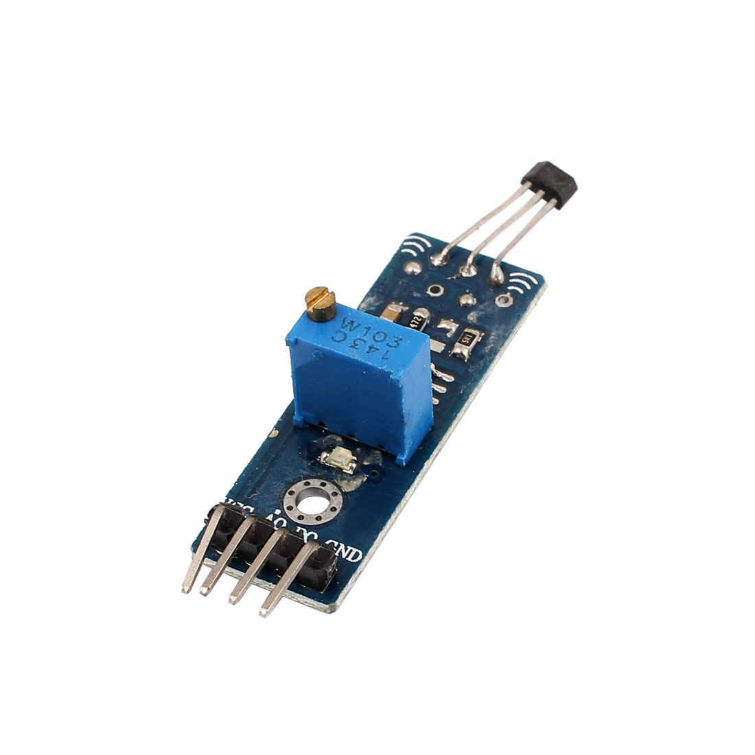 Magnetic Intensity Detection Sensor High Sensitivity 8.3mV/G Linear Hall Socket