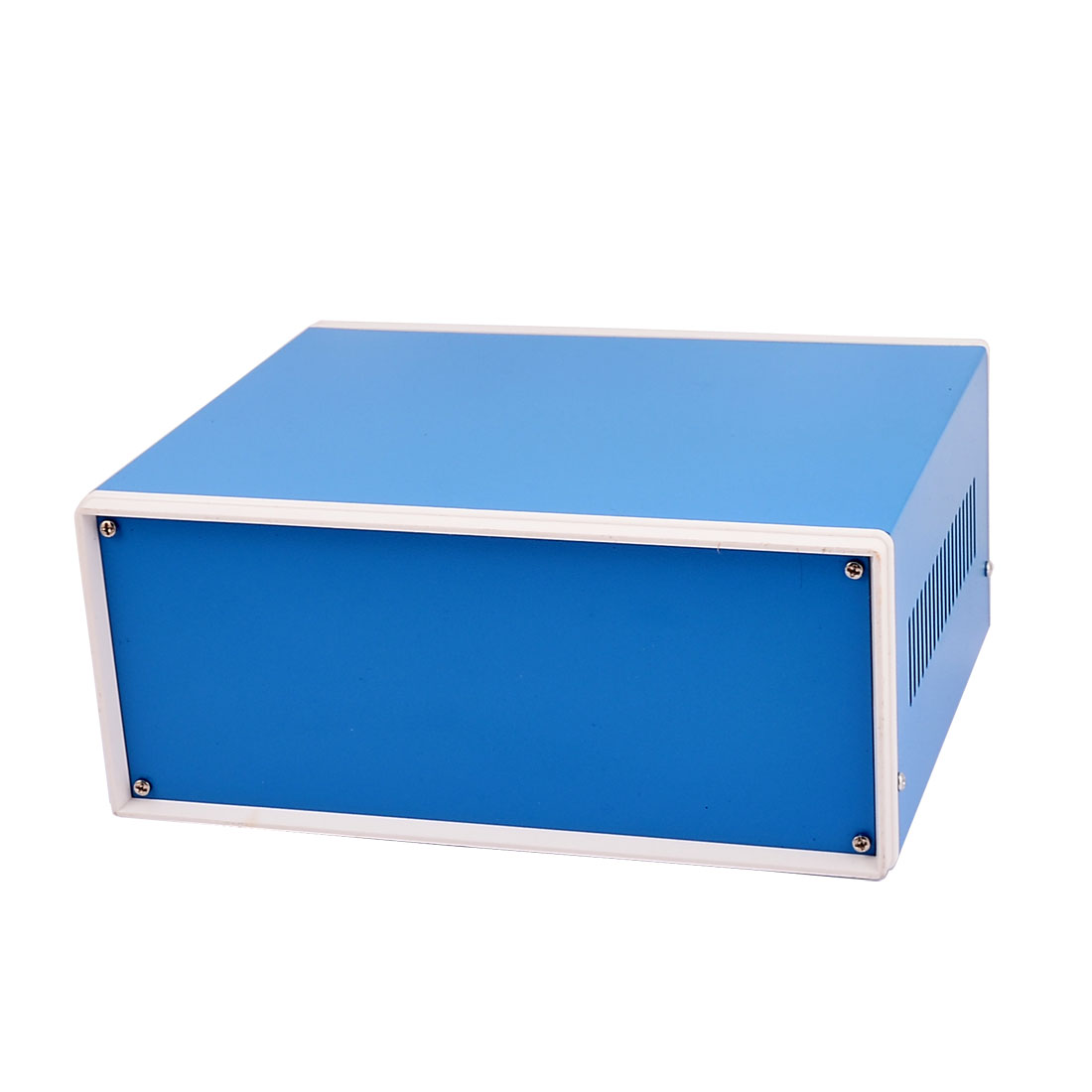 Metal Electronic Project Junction Box Enclosure Case Blue 230mm x 185mm x 95mm