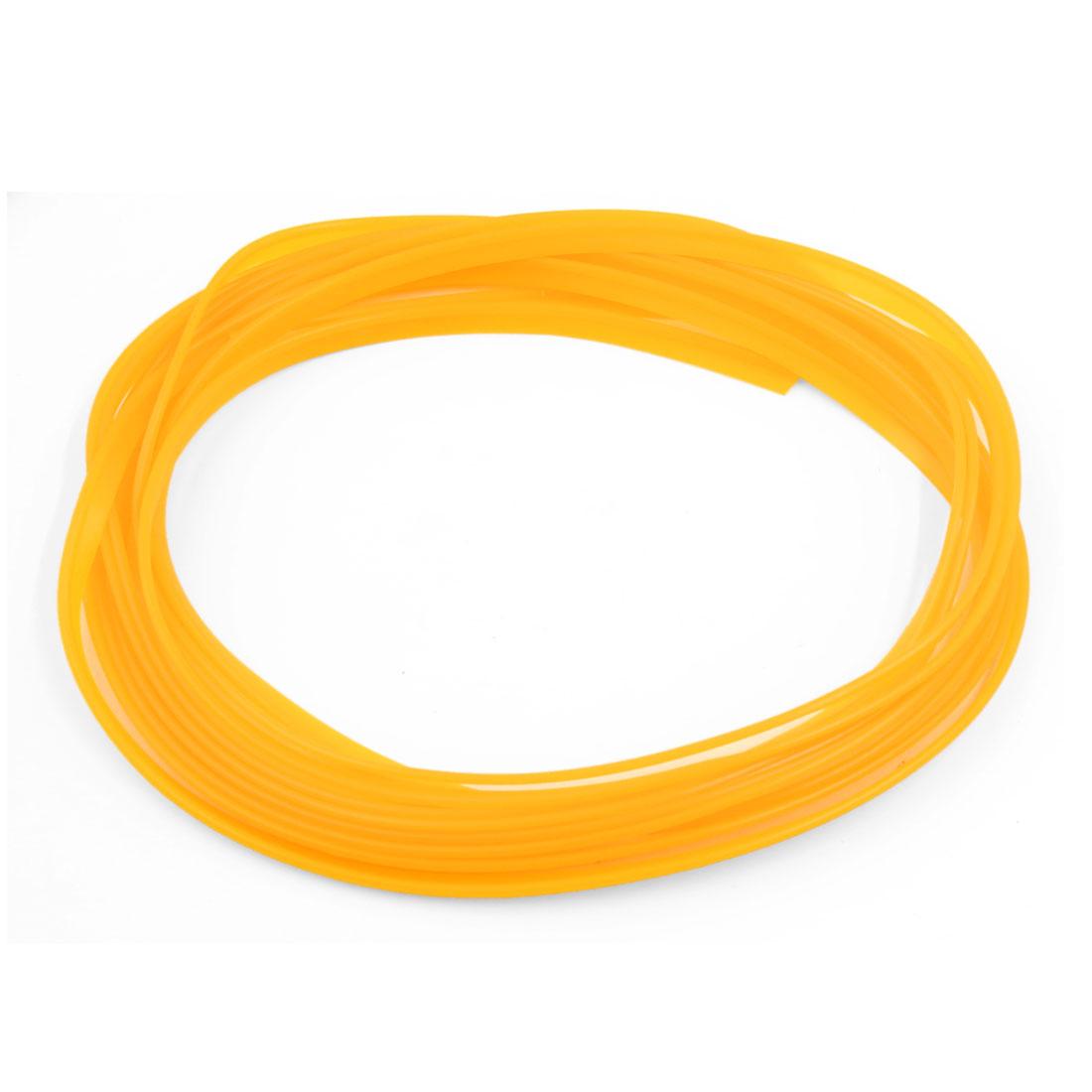 5M Yellow Flexible Trim for Car Interior Exterrior Moulding Strip Decorative Line