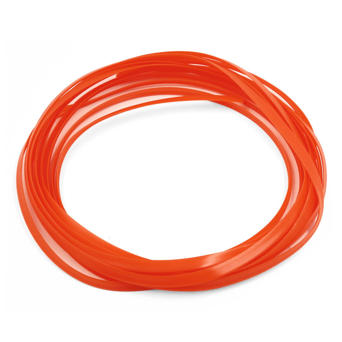 5M Orange Flexible Trim for Car Interior Exterrior Moulding Strip Decorative Line