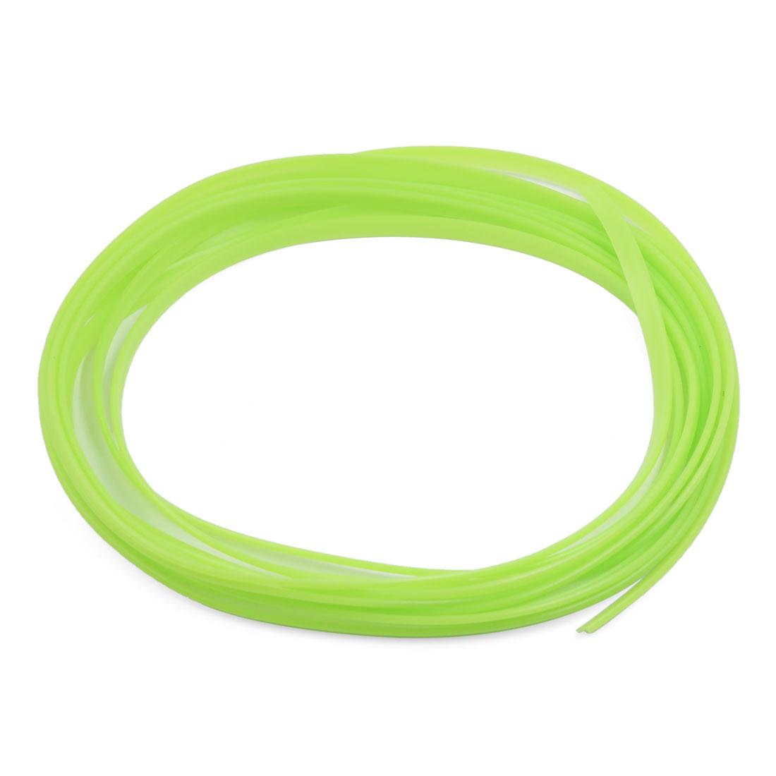 5M Fluorescence Green Flexible Trim Car Interior Exterrior Moulding Strip