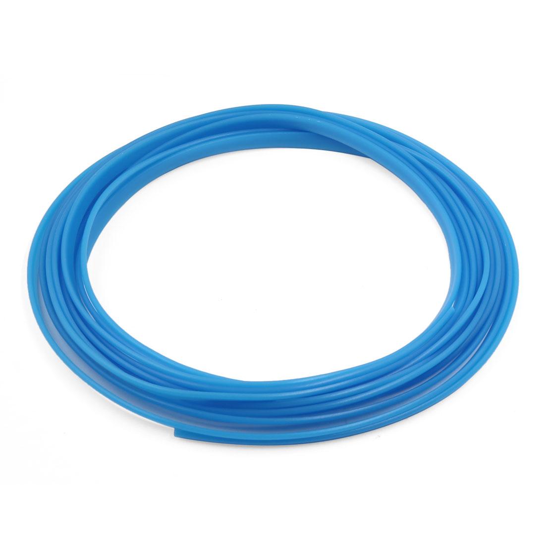 5M Length Blue Flexible Trim for Car Interior Exterrior Moulding Strip Decorative Line