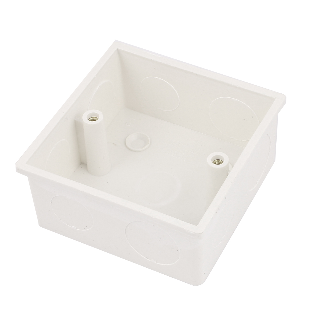 86mmx86mm Square Shape Wall Mounted Light Plastic Switch Junction Box