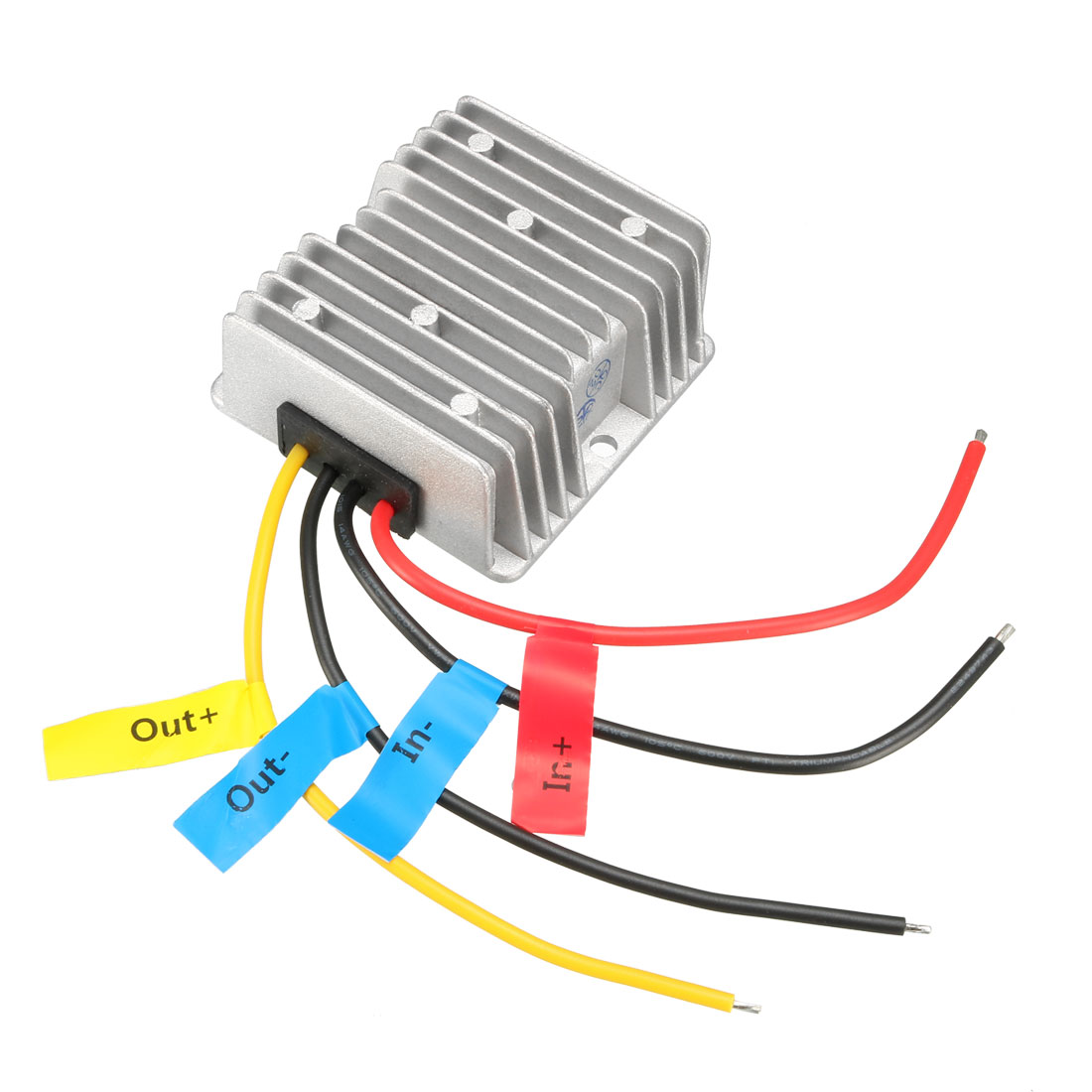 uxcell Power Converter Regulator DC 12V(10V~16V) Step-Up to DC 24V 10A 240W Waterproof Voltage Convert Transformer
