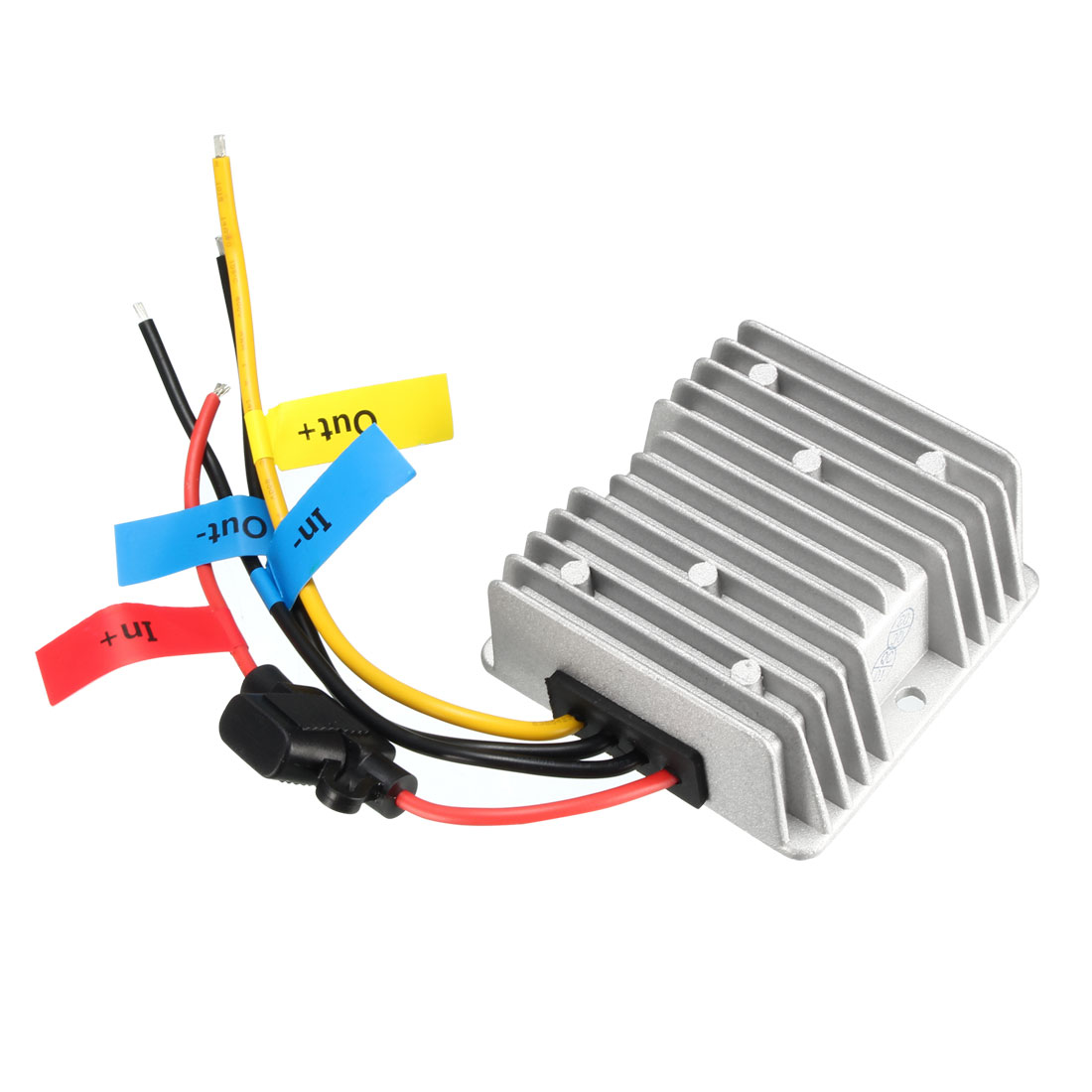 DC 24V(15V~40V) to DC 12V 20A 240W Power Converter Regulator Waterproof Electronic Transformer