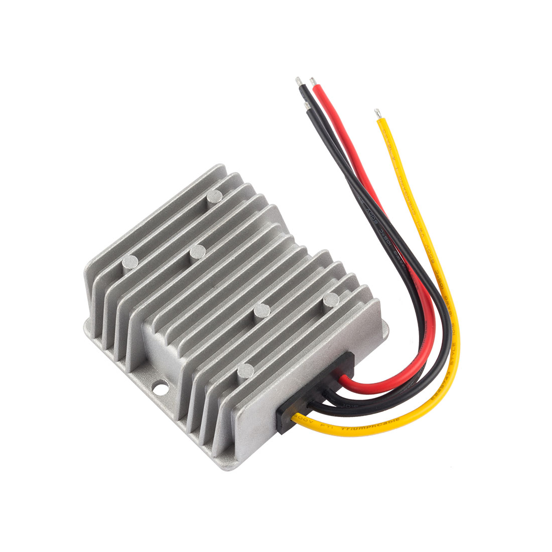 uxcell Power Converter Regulator DC 24V(19V~35V) to DC 12V 10A 120W Waterproof Voltage Convert Transformer