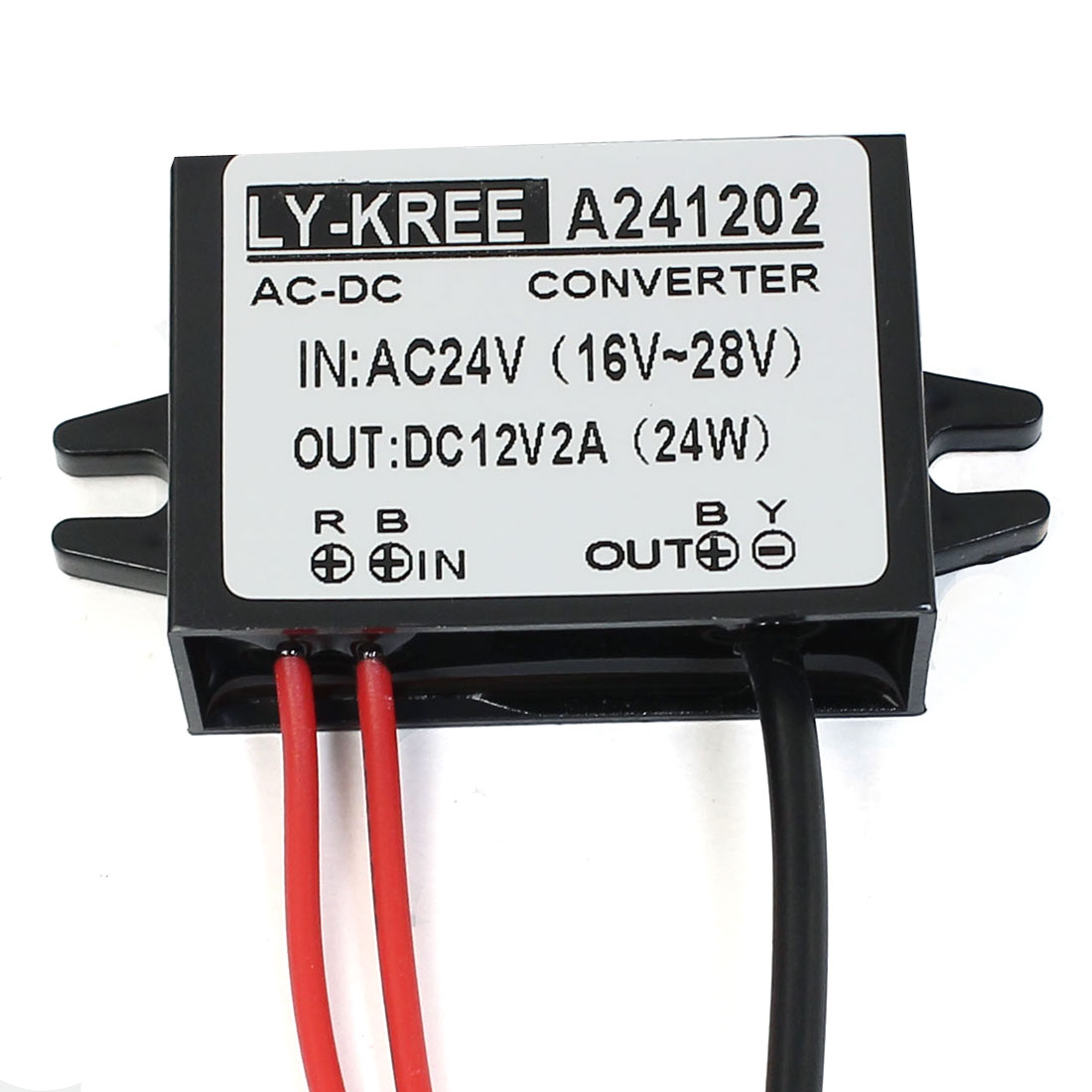 DC 12V 2A 24W LED Driver Power Supply Converter Regulator Waterproof Electronic Transformer DC Connector