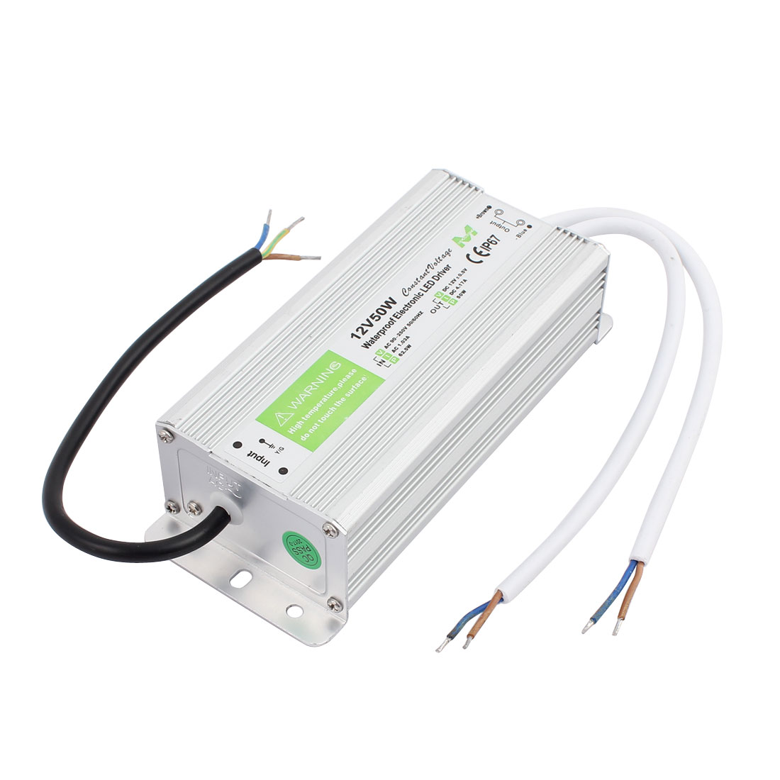 AC90~250V to DC12V 50 Watt Transformer IP67 Waterproof LED Driver Power Supply