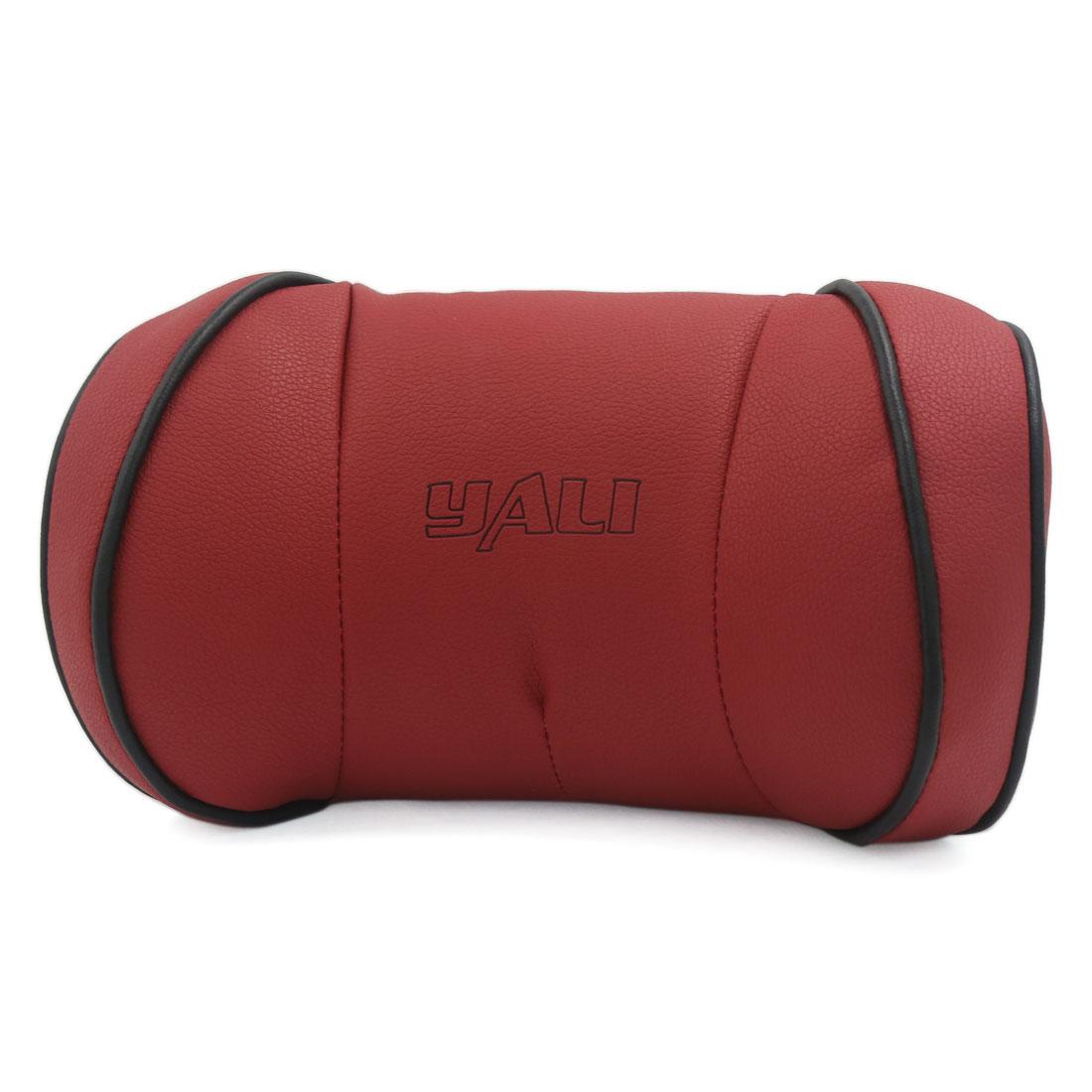 Car Interior Memory Foam Cotton Head Neck Rest Cushion Headrest Pillow Pad Red