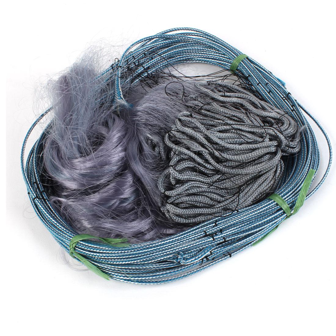 30M Length 1.5M Depth 5cm x 5cm Mesh Hole Fishing Tool Fish Gill Landing Net