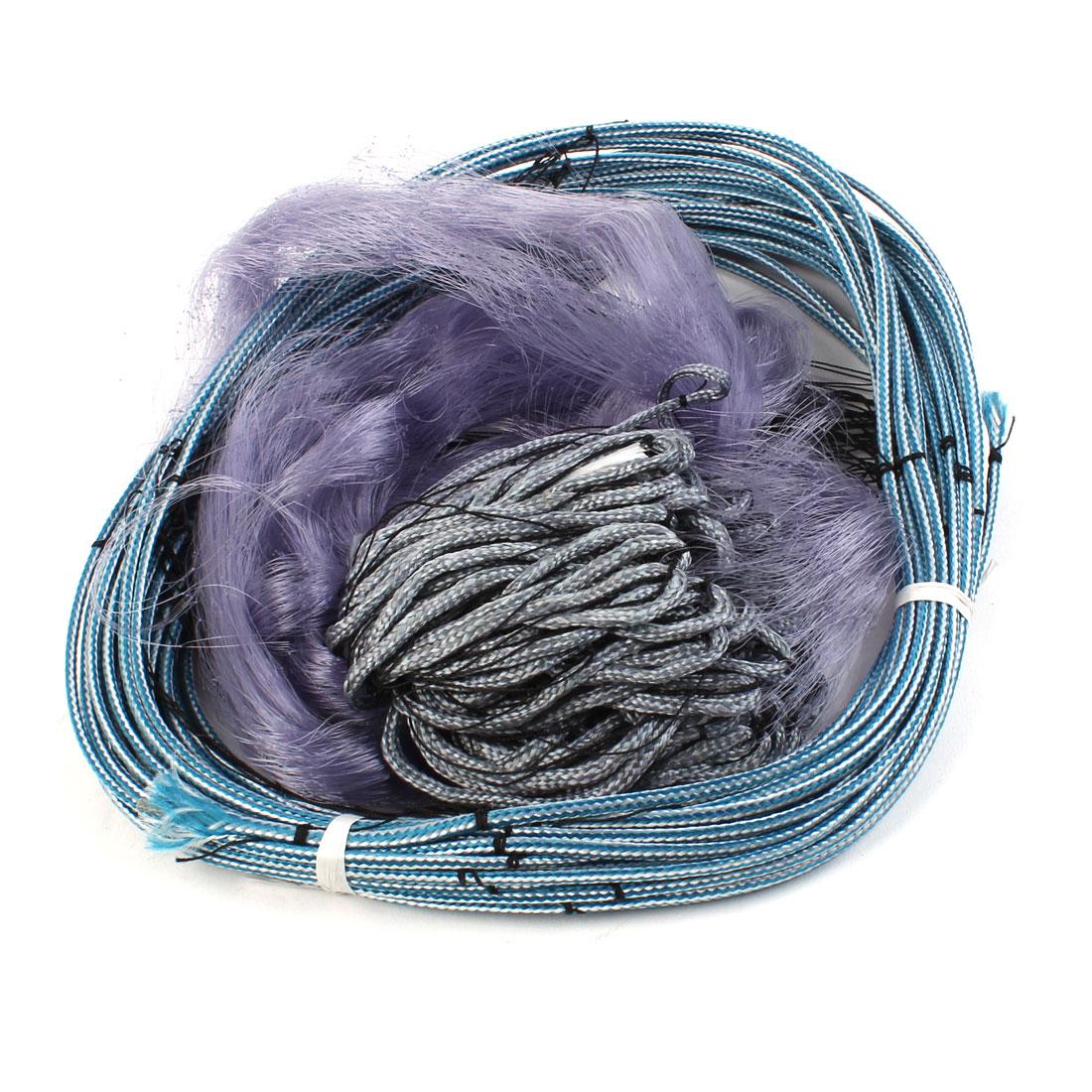 30M Length 1.8M Depth 4.5cm x 4.5cm Mesh Hole Fishing Tool Fish Gill Landing Net