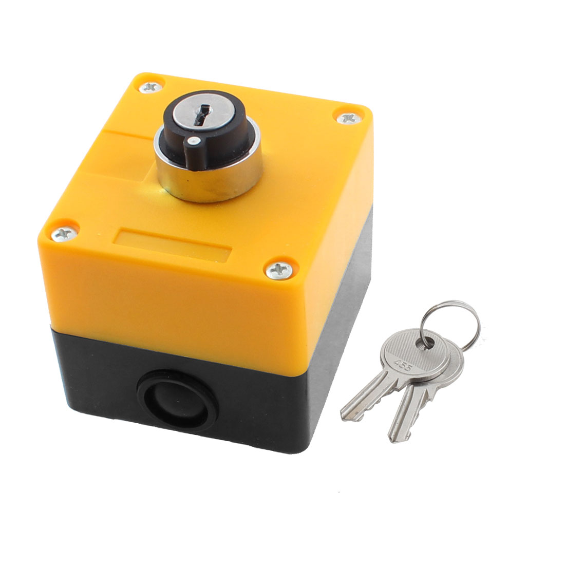 ZB2-BE101C 600V 10A 2 Positions Keylock Rotary Selector Select Switch Station