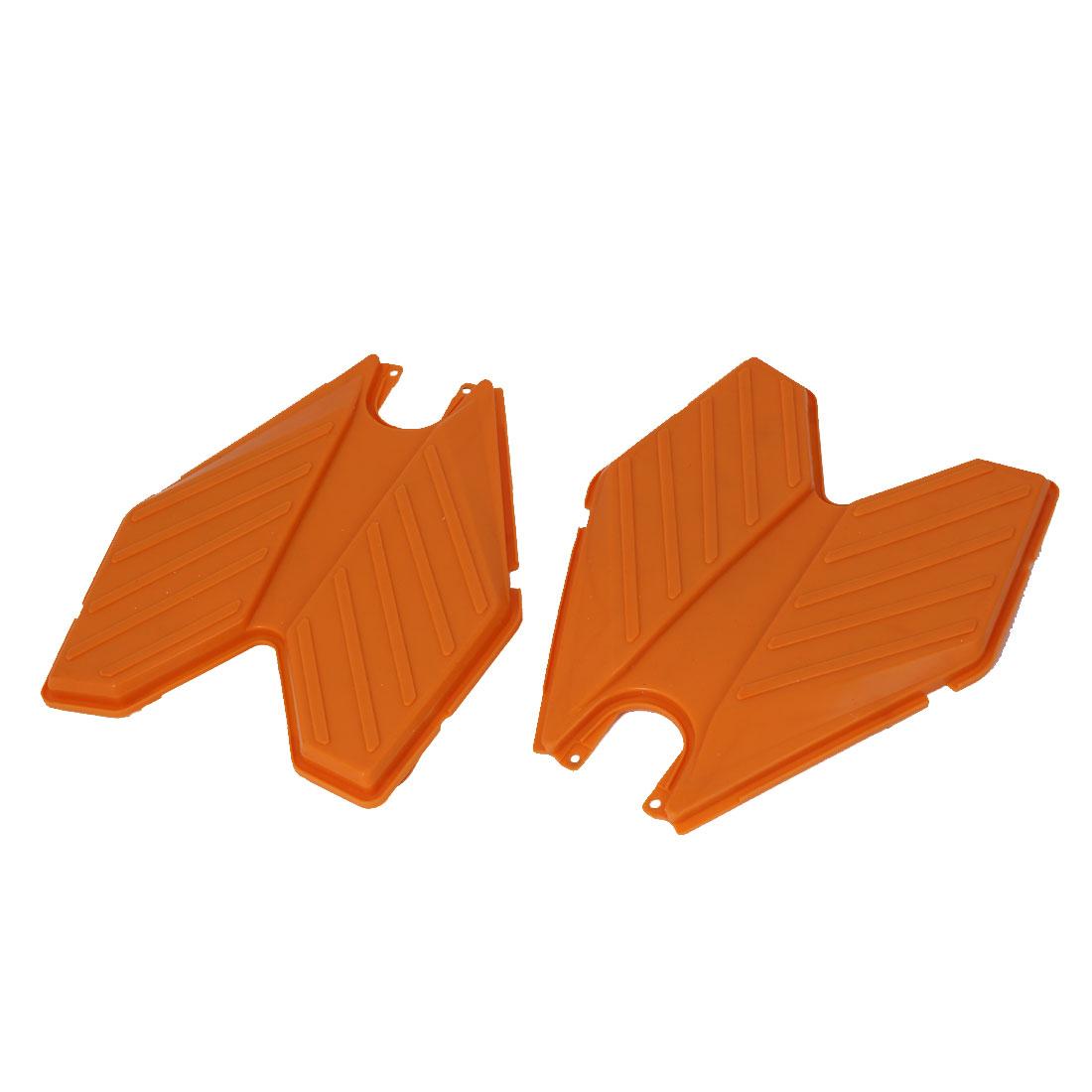 Swing Plasma Car Silicon Transformers Design Pedals Orange 2pcs
