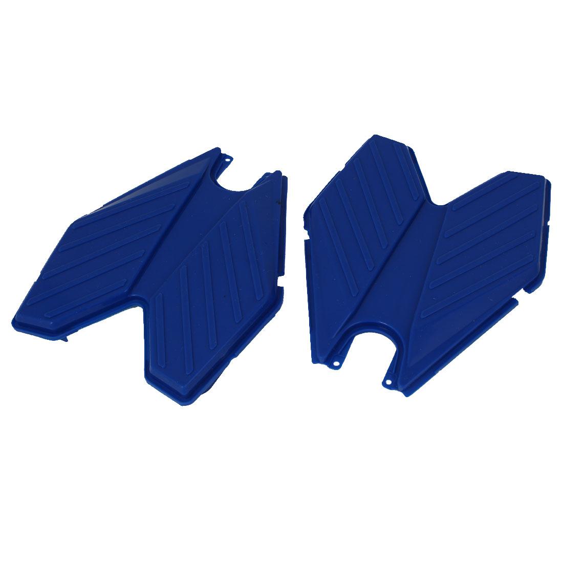 Swing Plasma Car Silicon Transformers Design Pedal Blue 2pcs