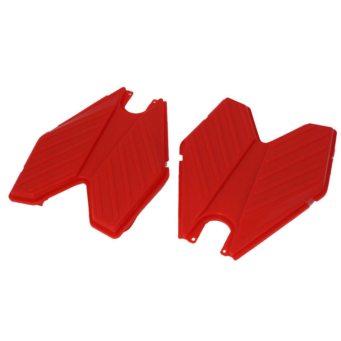 Swing Plasma Car Silicon Transformers Design Pedal Red 2pcs