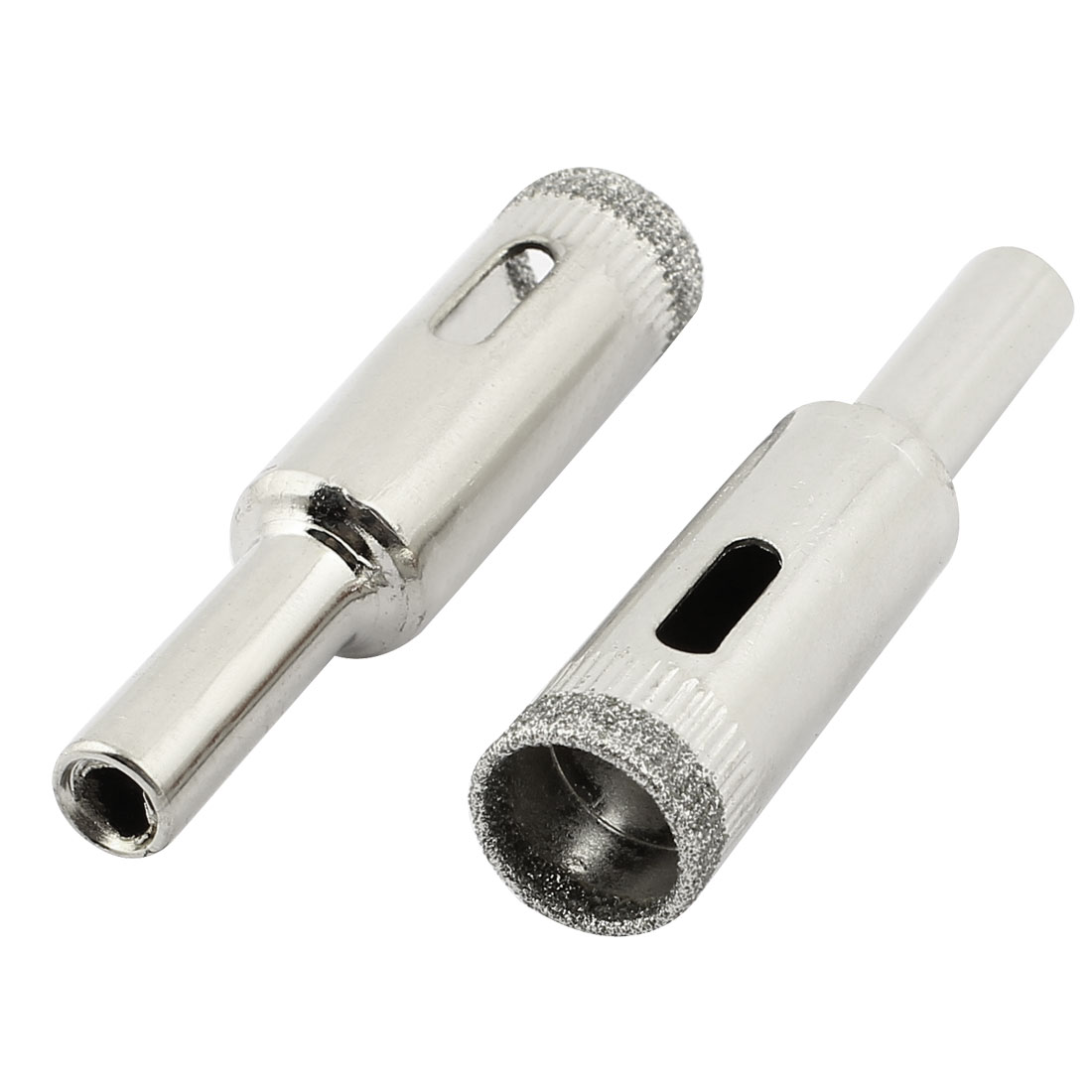 12mm Cutting Dia Diamond Coated Glass Tile Marble Drill Bit Hole Saw 2pcs