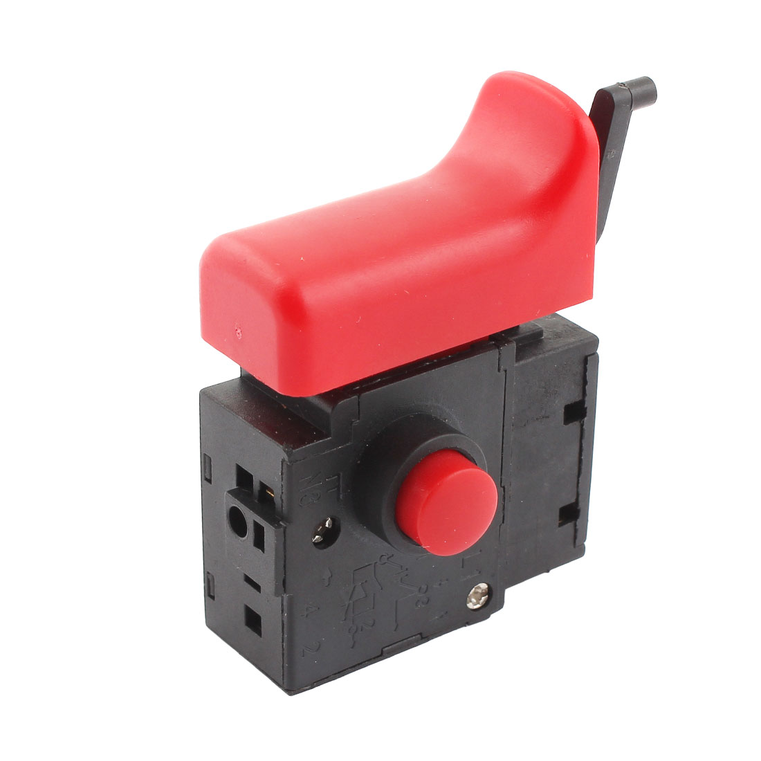 FA2-6/1BEK 250V 6A 5E4 Lock On Power Tool Electric Drill Trigger Switch Black