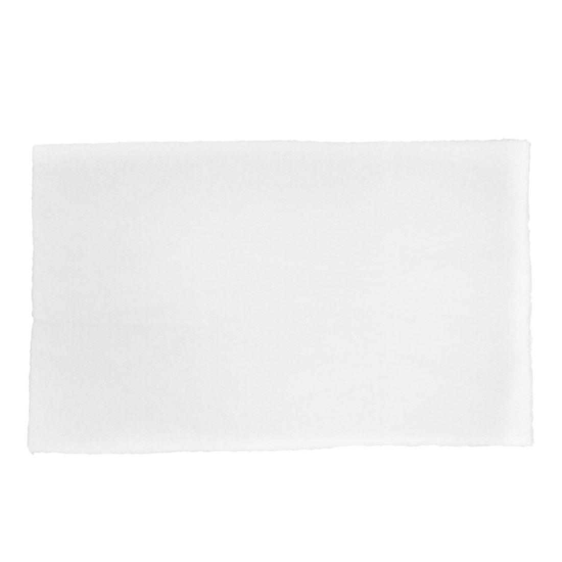 "Aquarium Fish Tank Biochemical Filter Foam Cotton Sponge Pad Mat White 24"" Long"