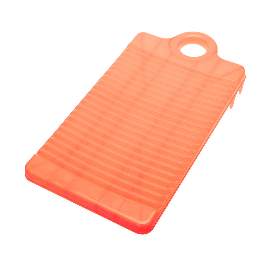 32cm Long Plastic Rectangle Washboard Washing Clothes Laundry Board Pink