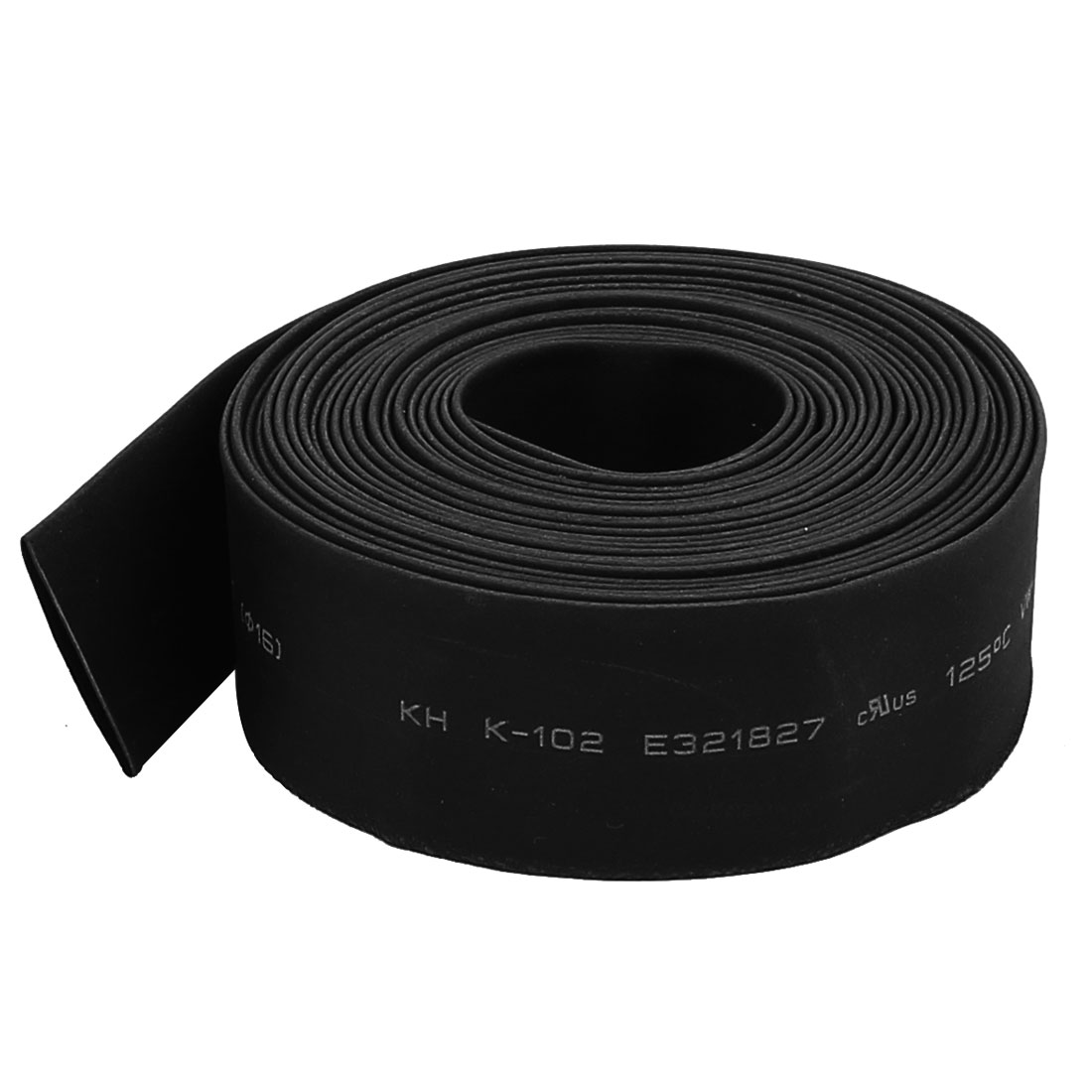 Black 16mm Dia 2:1 Heat Shrink Tubing Shrinkable Tube Insulated Hose Sleeving Cable Wrap 3.4M 11Ft Long
