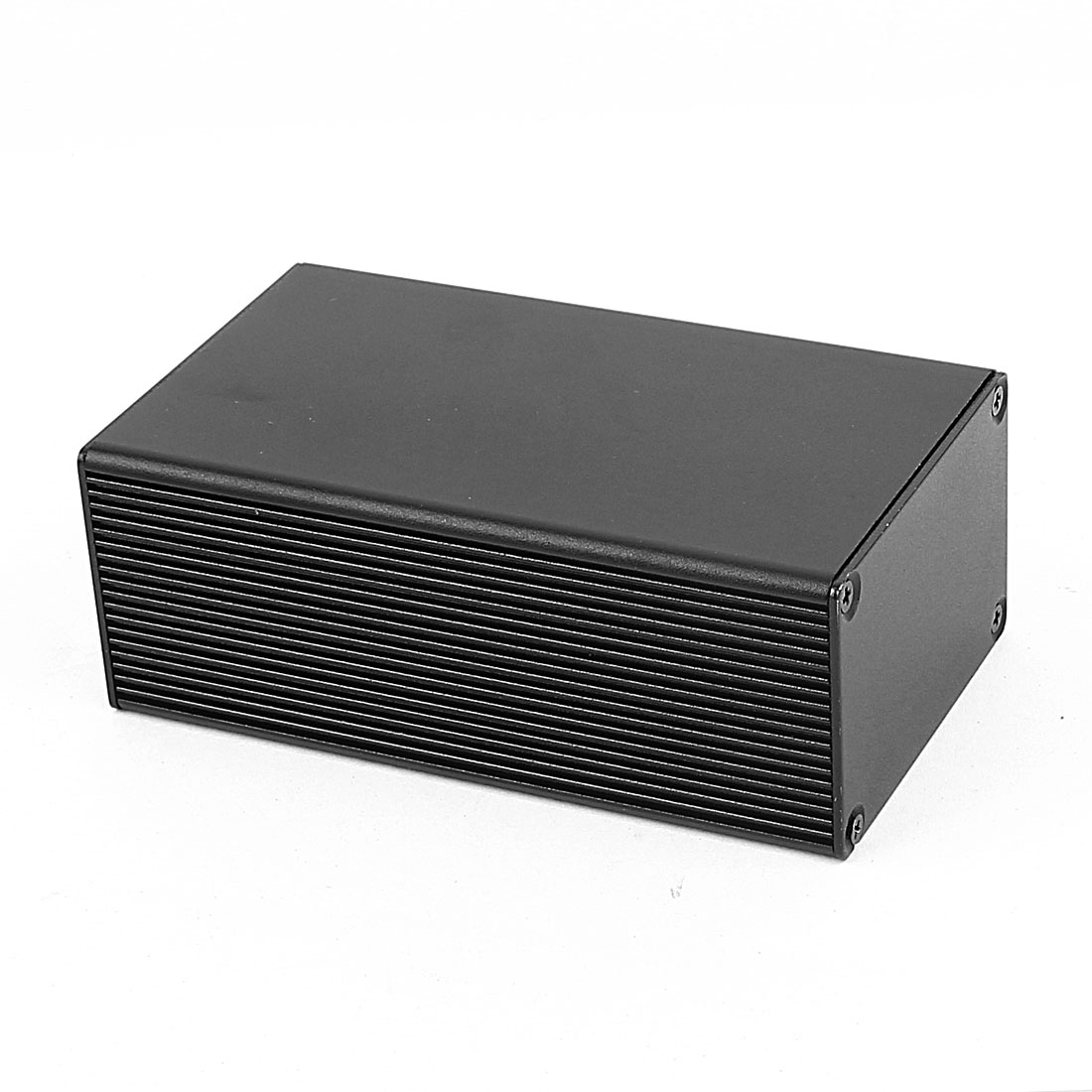 Aluminum Enclosure Case Electronic Power DIY Junction Project Box 110x66x43mm Black