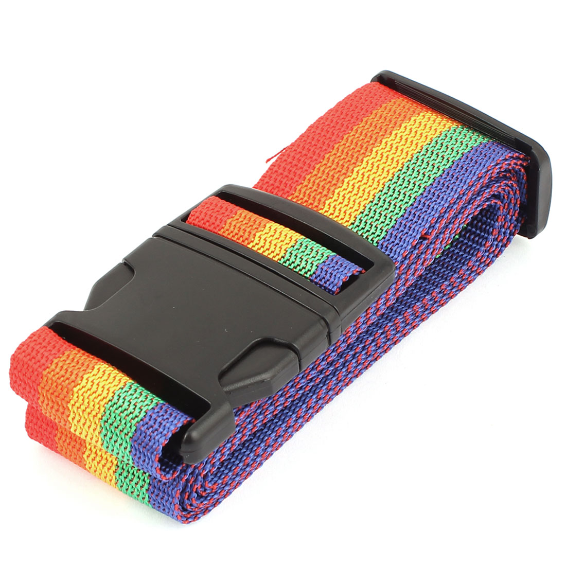 Adjustable Travel Luggage Baggage Plastic Buckle Nylon Belt Strap Band Multicolor