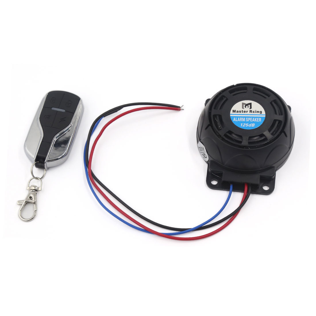DC 12V Motorcycle Anti-theft Security Alarm Systems Remote Control Engine Start