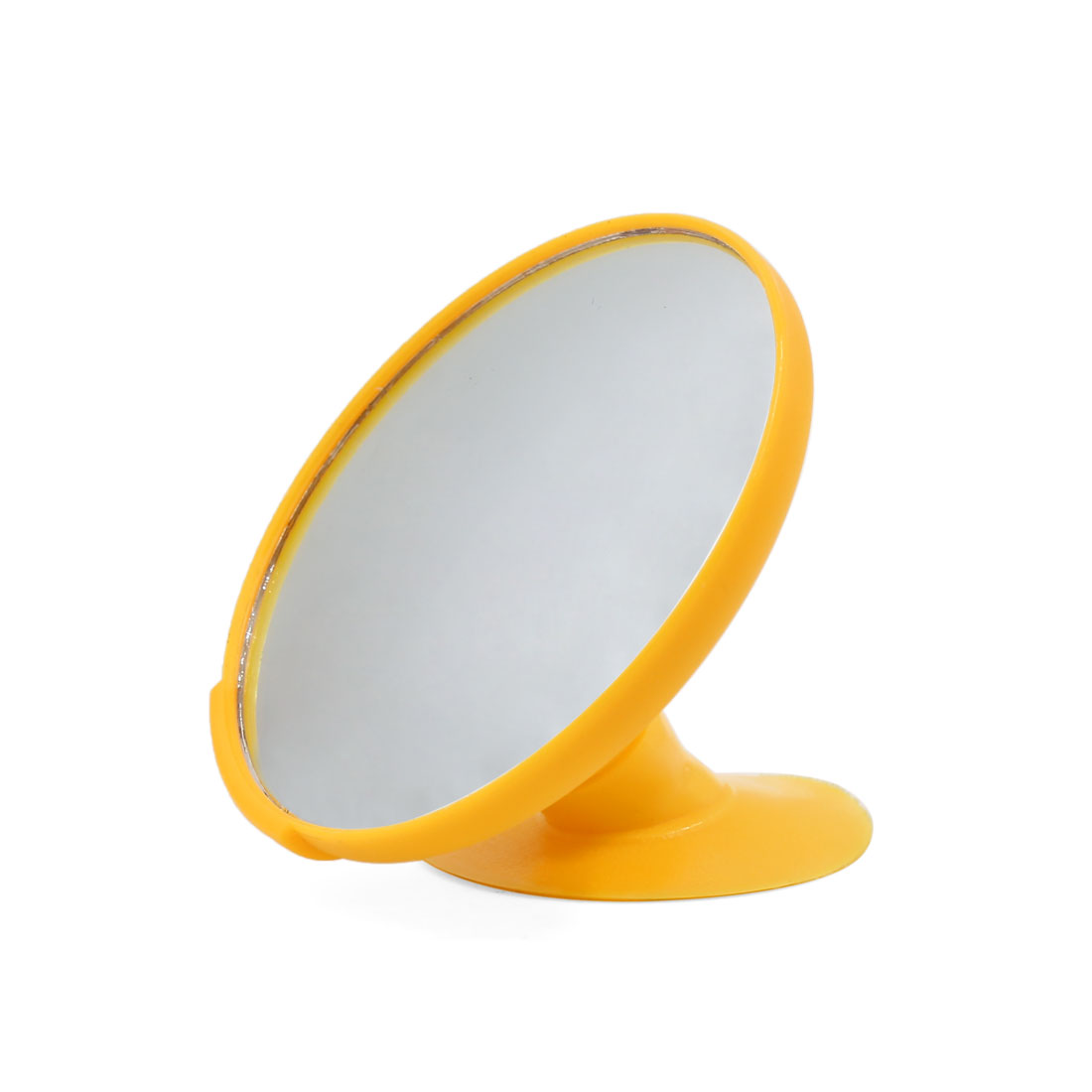 360 Degree Rotatable Car Interior Baby Care Blind Spot Rear View Mirror Yellow