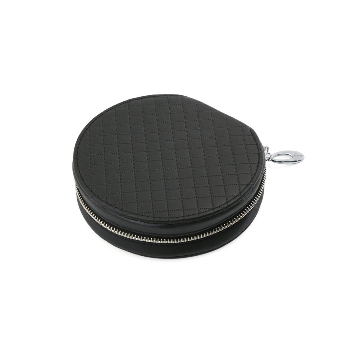 20 Disc CD DVD Wallet Storage Zipper Closure Bag Case Holder Album Box Black