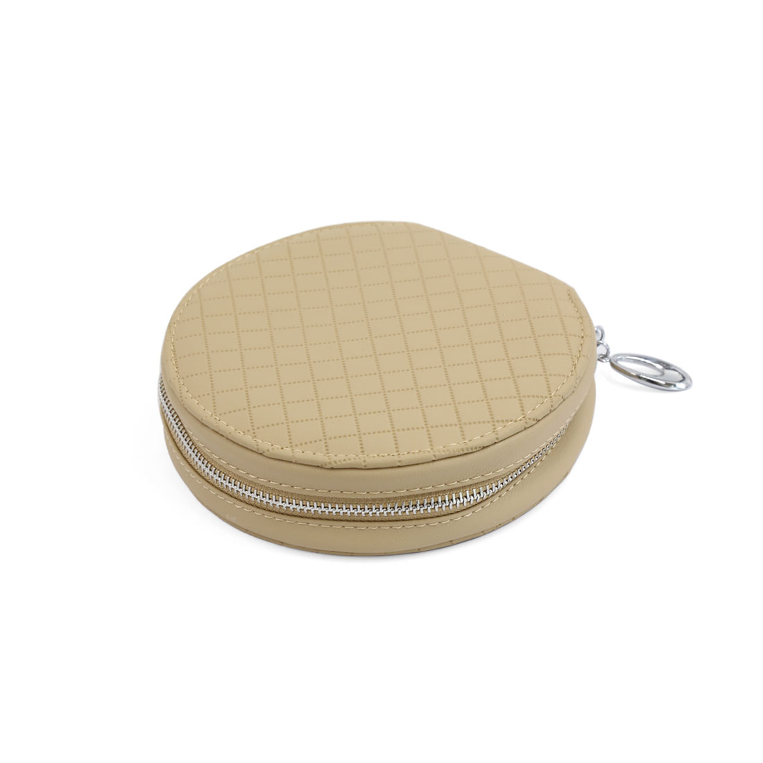 20 Disc CD DVD Holder Storage Case Organizer Wallet Cover Bag Box Beige