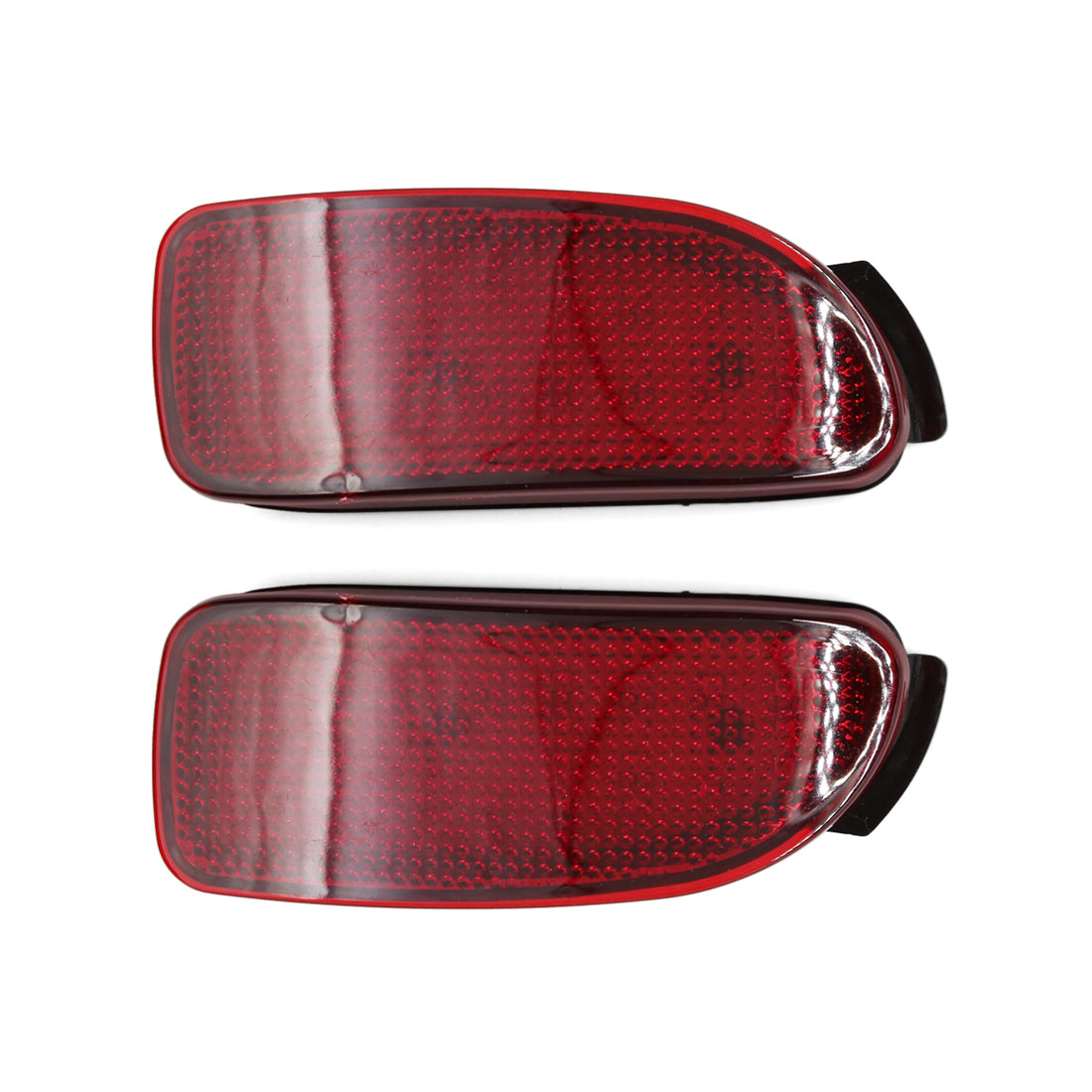 2 Pcs Red LED Rear Bumper Bar Light Tail Brake Lamp DC 12V for Toyota