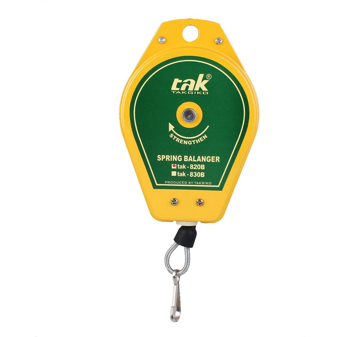 Rotary Knob Load Bearing Hook Metal Shell Spring Balancer 0.6-2.0Kg