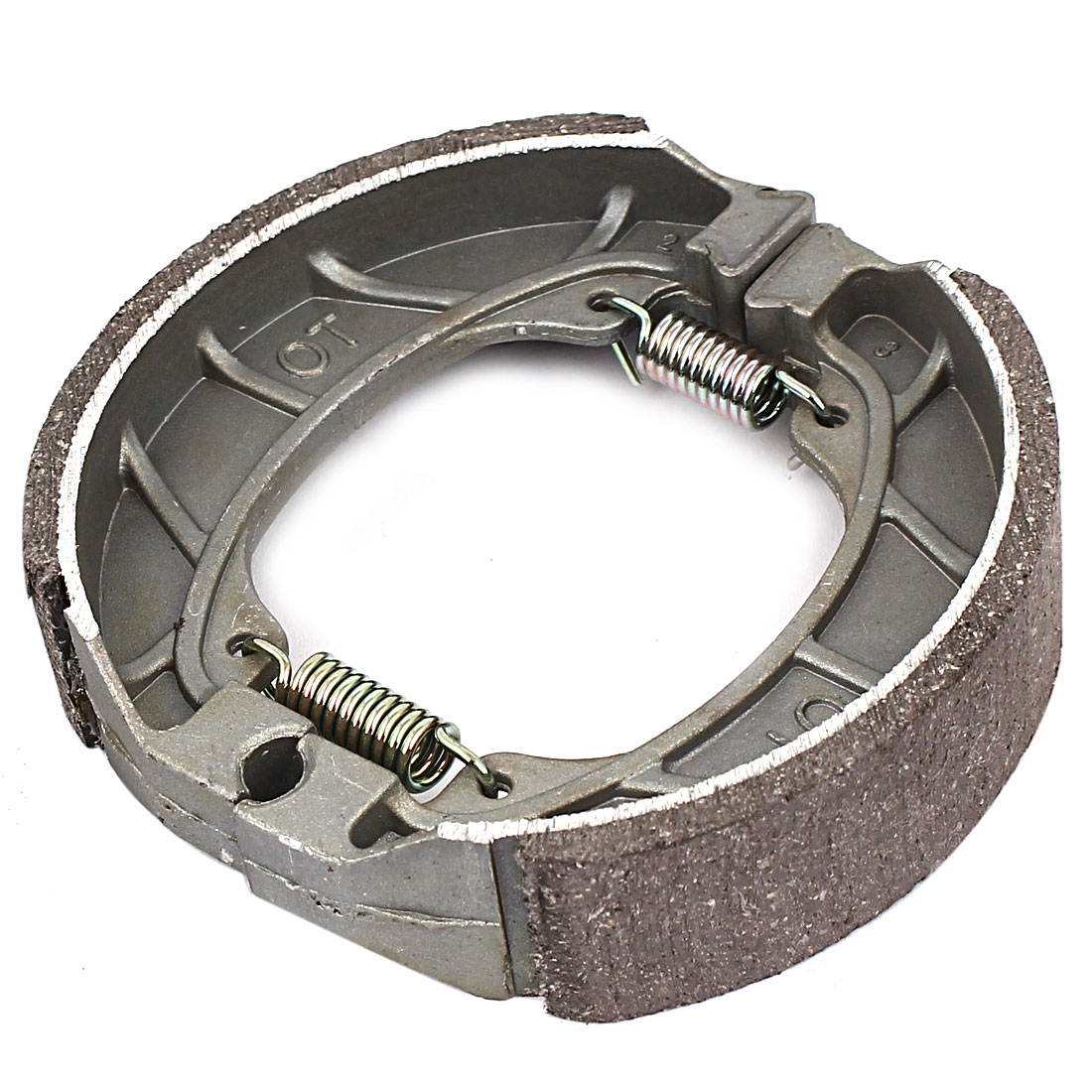 Metal Spring Brake Shoes Bicycle Motorcycle Drum Pad 4 Inch Dia