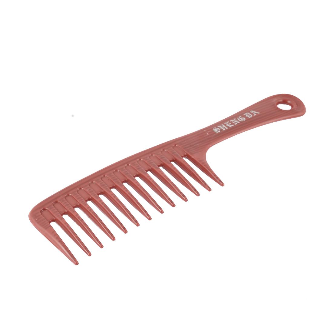 Health Care Scalp Massage Striped Long Teeth Plastic Anti Static Brush Hair Comb