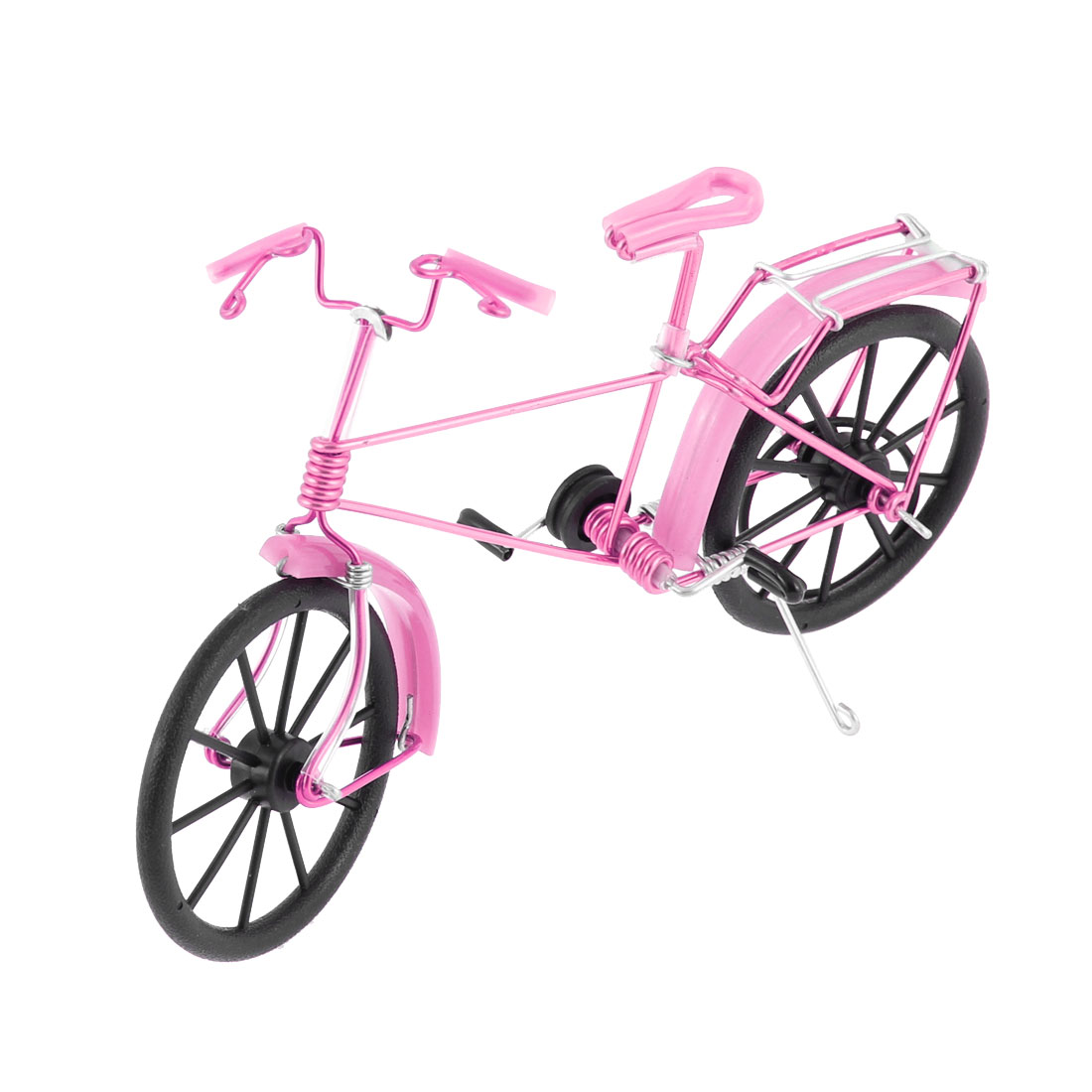 Handmade Wire Bicycle Cycling Bike Model Decoration Pink