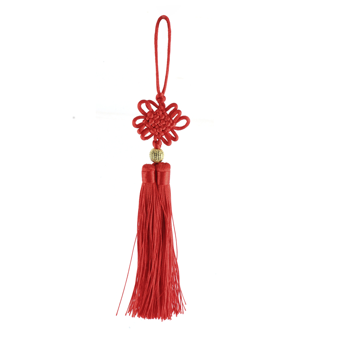 Home Decoration Red Tassels Chinese Luck Knot Hanging Ornament