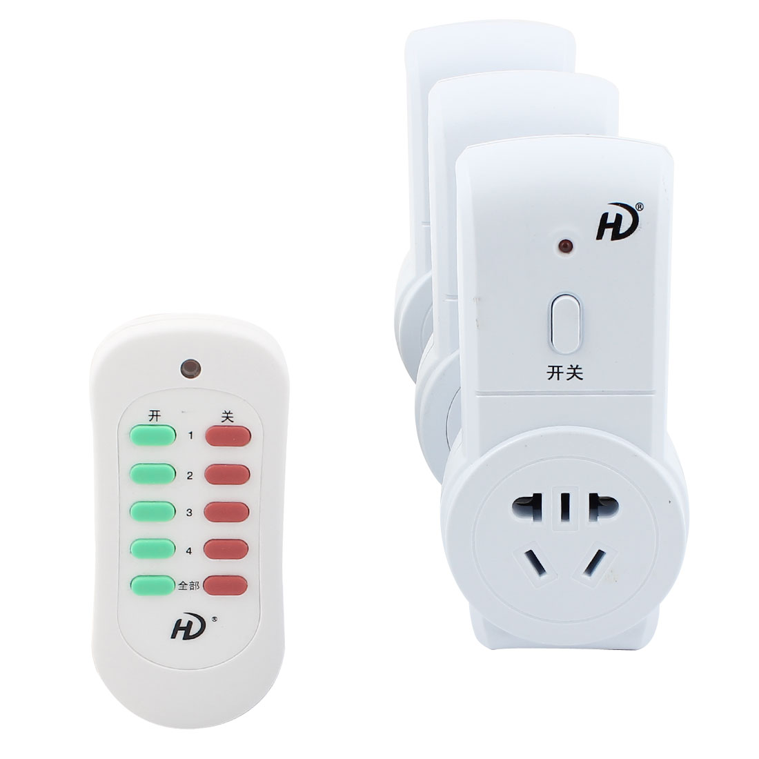 AC 220V 10A AU Plug Outlet Wireless Remote Control Socket Switch Suit