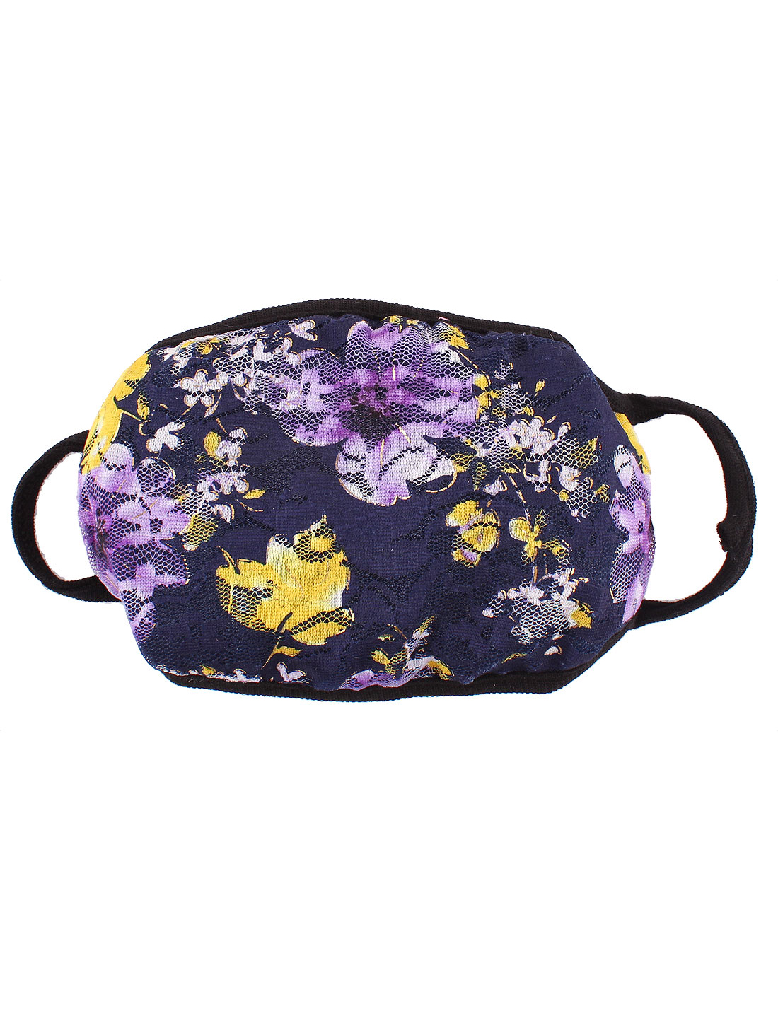 Women Outdoor Anti-dust Flower Pattern Mouth Nose Earloop Face Mask Respirator