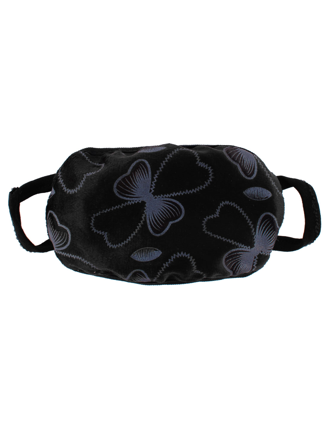 Woman Bowknot Pattern Face Nose Mouth Mask Cover Respirator Protector Black
